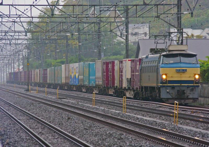 EF66-0 東海道線 大磯 二宮 貨物列車 ゼロロク 続・シリウスの線路際のロマンを求めて 33号機
