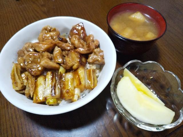 焼き鳥丼 レシピ 丼物 男の料理 おうちごはん