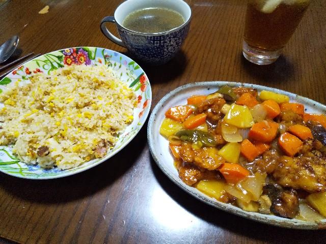 中華料理 酢豚 チャーハン 炒飯 レシピ 男の料理 おうちごはん