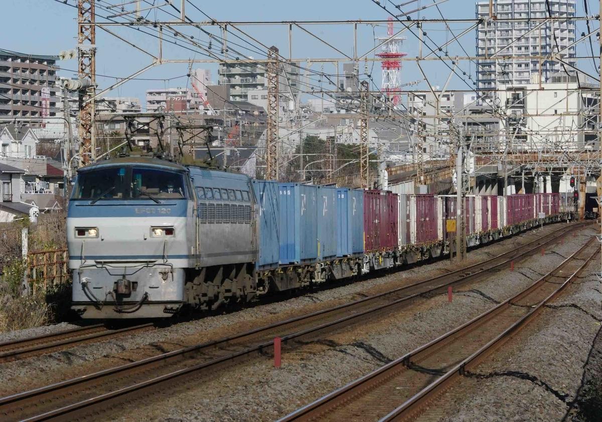 EH500 EF66-100 1097ㇾ 2079ㇾ 東海道線 撮影地 貨物列車 相模貨物駅 平塚 大磯