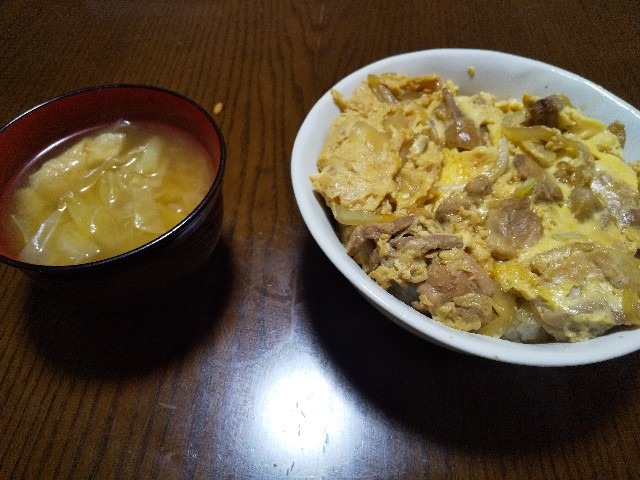 親子丼 レシピ 丼物 男の料理 おうちごはん