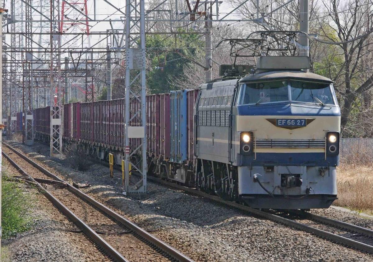 【EF66-27】 ゼロロク ニーナ EF66-0 4093ㇾ 南武支線 川崎新町駅 撮影地 国鉄型車両