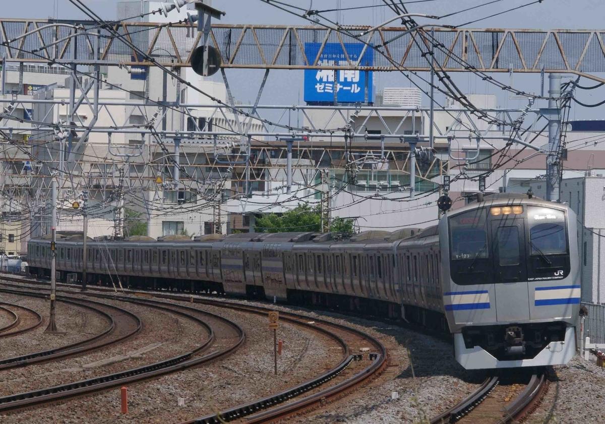 E217系 E235系1000番台 横須賀線 東海道線 E231系 E233系 上野東京ライン 湘南新宿ライン 戸塚 大船 成田エクスプレス 踊り子号 185系 E259系 E257系2000番台