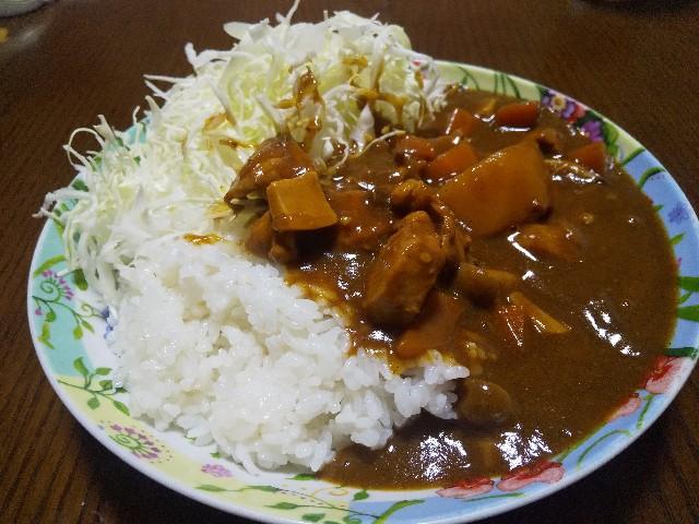 カレーライス 「ハウスジャワカレー」 レシピ 男の料理 おうちごはん コールスローサラダ マヨネーズ 日本の洋食