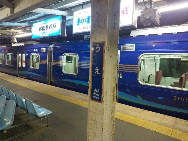 SR1系 しなのサンセット号 しなのサンライズ号 しなのサンセット4号 ホームライナー 長野 上田 乗車記 しなの鉄道