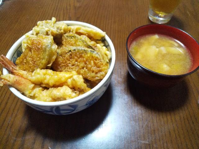 天丼 丼物 和食 レシピ 甘辛いタレ 男の料理 おうちごはん