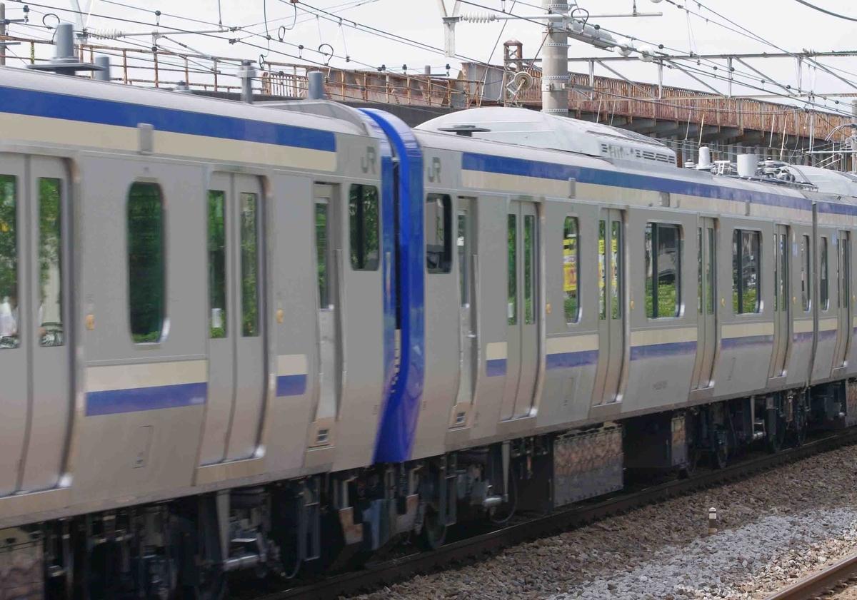 E235系1000番台 試運転 横須賀線 15連 平塚 大磯 東海道線 撮影地 EF66-27 EF66-0 27号機 5097レ 貨物列車