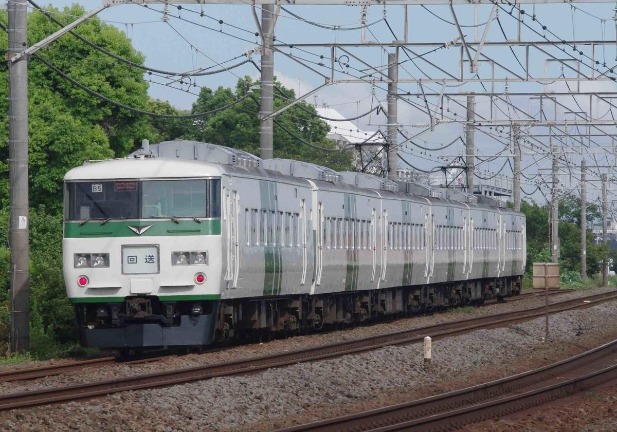 東海道線 横須賀線 平塚 茅ヶ崎 松尾踏切 撮影地 貨物列車 185系