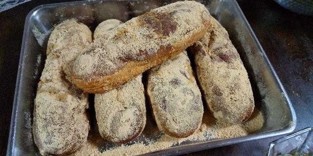 きな粉揚げパン カレーシチュー 春雨サラダ レシピ 男の料理 おうちごはん 学校給食 給食メニュー懐かしの味