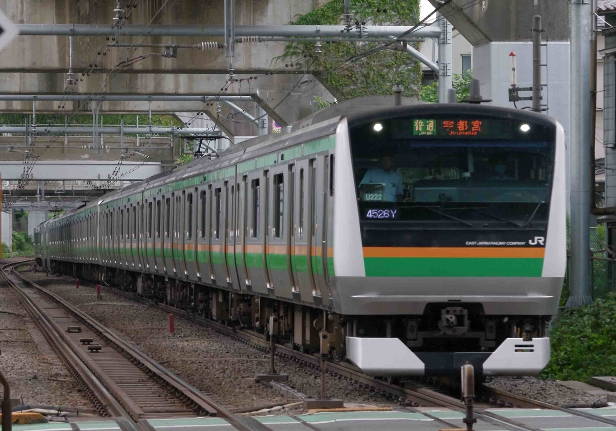 横須賀線 湘南新宿ライン E231系 E233系 E217系 撮影地 西大井駅