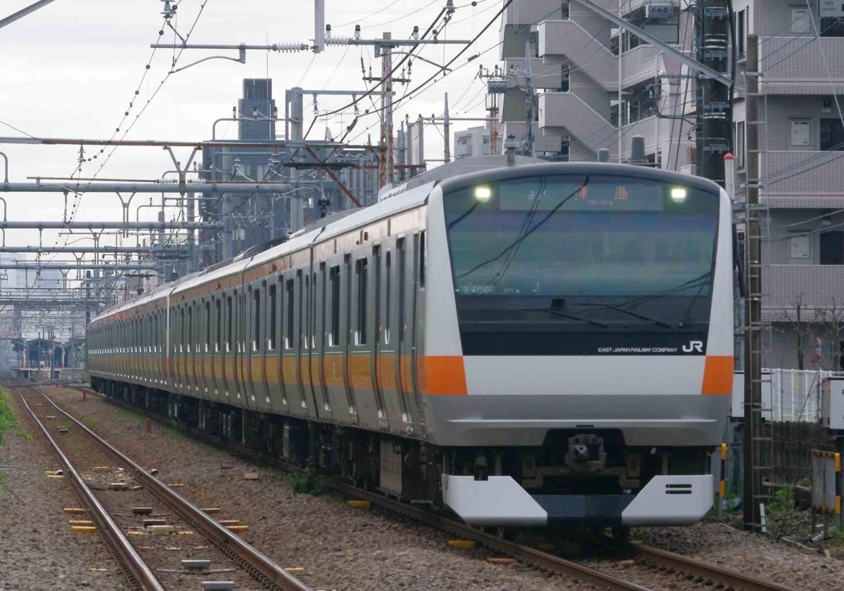 E233系 青梅線 中央線 中央線グリーン車組み込み12連化 ホーム延長工事 12両編成