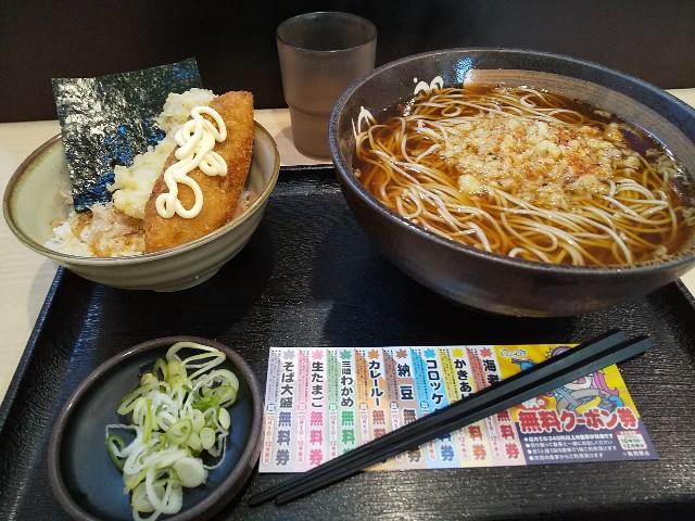 ゆで太郎 のり丼 のり弁 新製品 11月から 体験記 試食記 食べ歩き かけそば