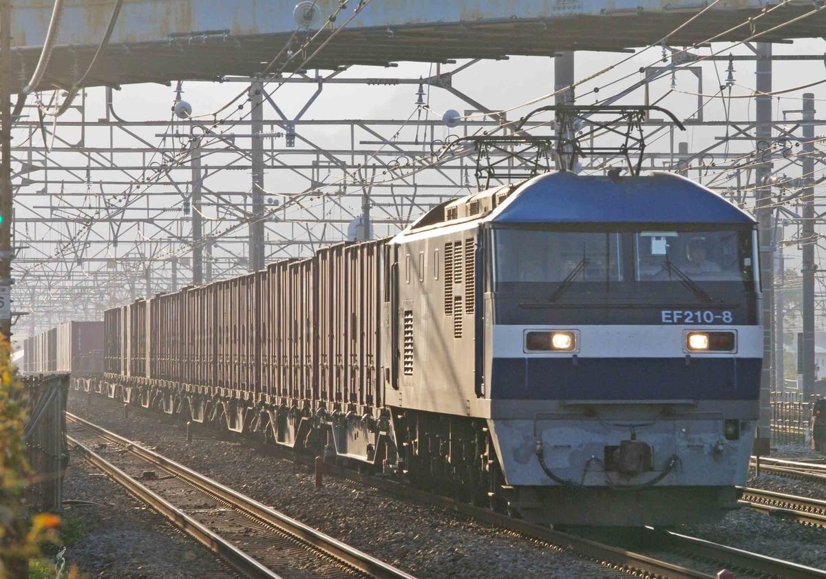 EF66-100 EF210桃太郎 EH500金太郎 貨物列車 撮影地 東海道線 平塚 大磯 二宮