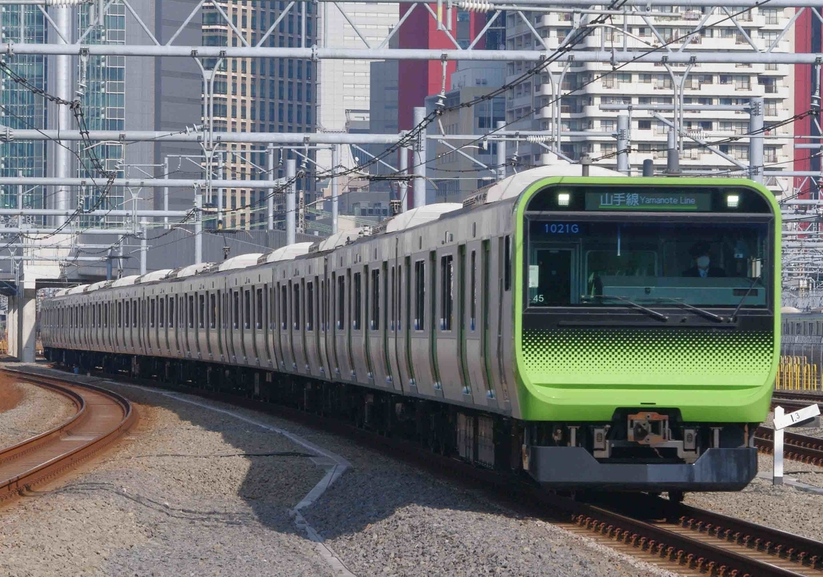 高輪ゲートウェイ駅 山手線 京浜東北線 E235系 E233系1000番台 撮影地