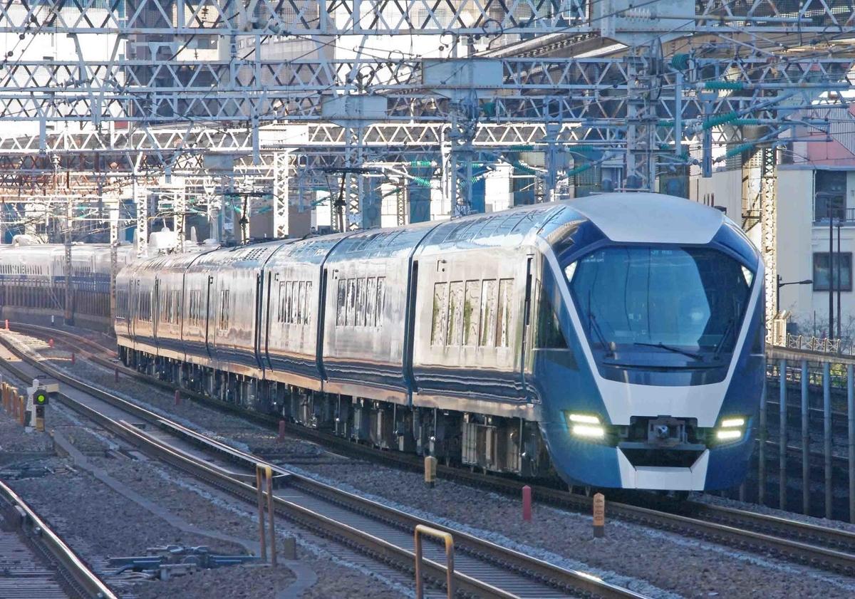 田町駅 東海道線 E261系 185系 サフィール踊り子号 常磐線 上野東京ライン 撮影地