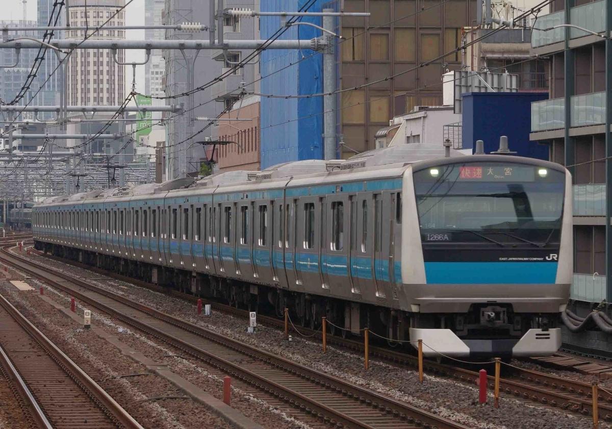 御徒町駅 上野東京ライン 撮影地 プラレール E235系0番台 E233系1000番台 山手線 京浜東北線 常磐線 E657系