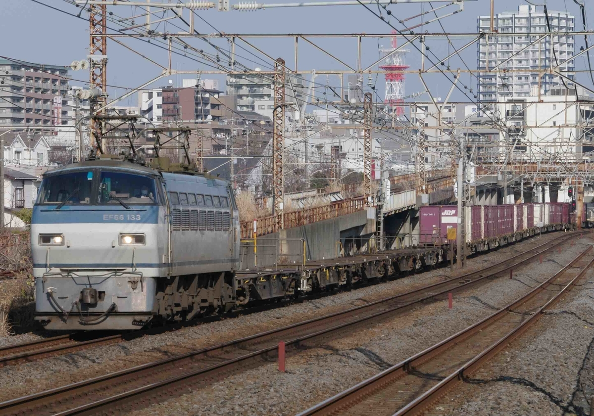 EF66-100 EH500 東海道線 大磯 平塚 撮影地 貨物列車
