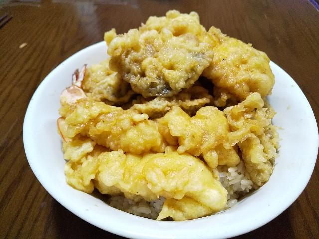 天丼 天ぷらをおうちで揚げる 甘辛タレ 丼物 レシピ おうちごはん 男の料理