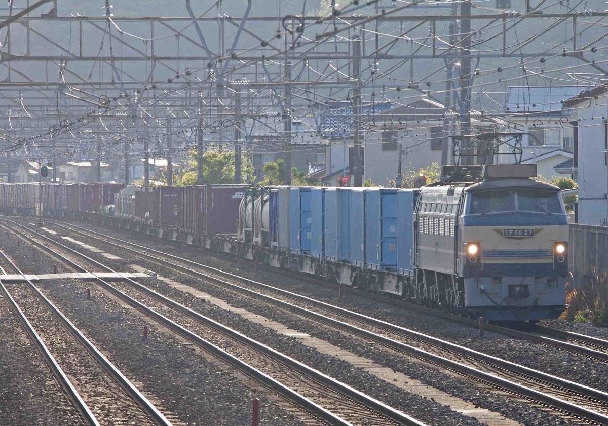 EF66-27 EH500 EF210 EF66-100 貨物列車 1092レ 平塚 大磯 二宮 撮影地 東海道線