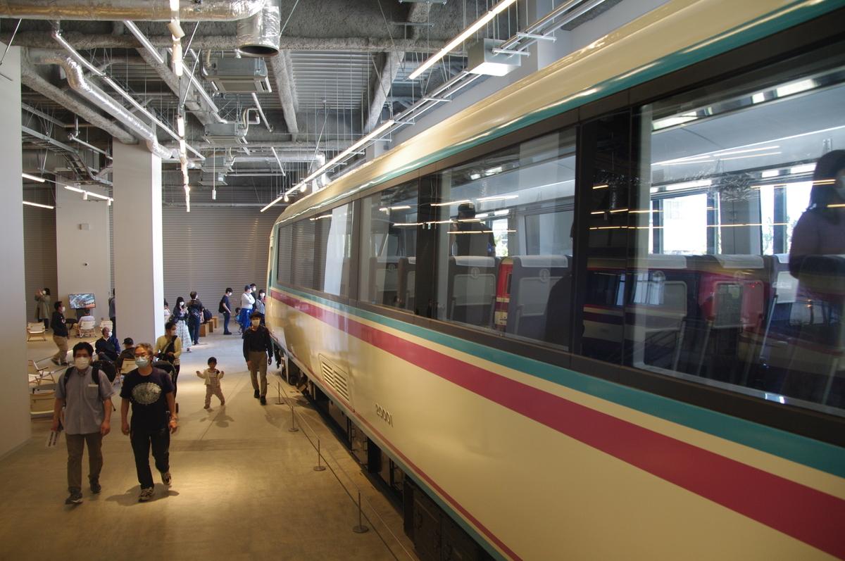 HiSE10000形 RSE20000形 ロマンスカー ロマンスカーミュージアム あさぎり スーパーはこね 小田急電鉄 海老名駅