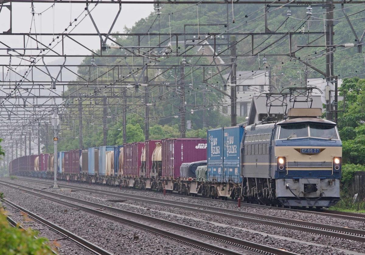 EF66-0 EF66-27 EH500 EF66-100 平塚 大磯 二宮 1092ㇾ 1097ㇾ 2079ㇾ 貨物列車 東海道線 撮影地