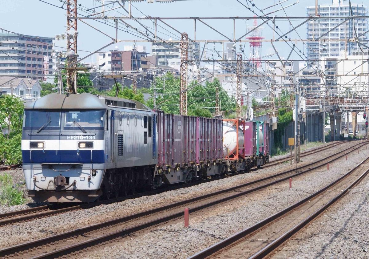 東海道線 貨物列車 撮影地 EF210-300 押し桃 EH500 平塚 大磯 相模貨物駅