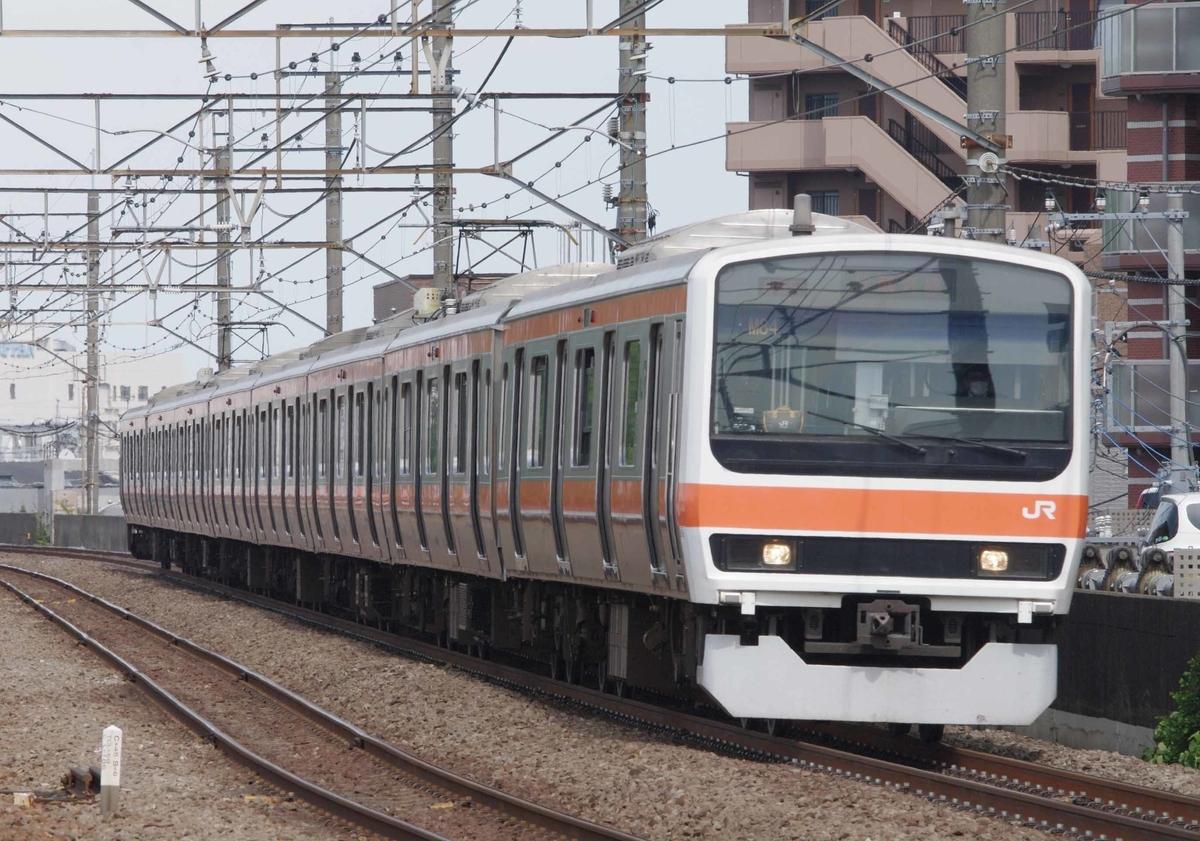 武蔵野線 新座駅 E235系1000番台 J12 編成 出場配給回送 撮影地 EF64-1000 209系500番台