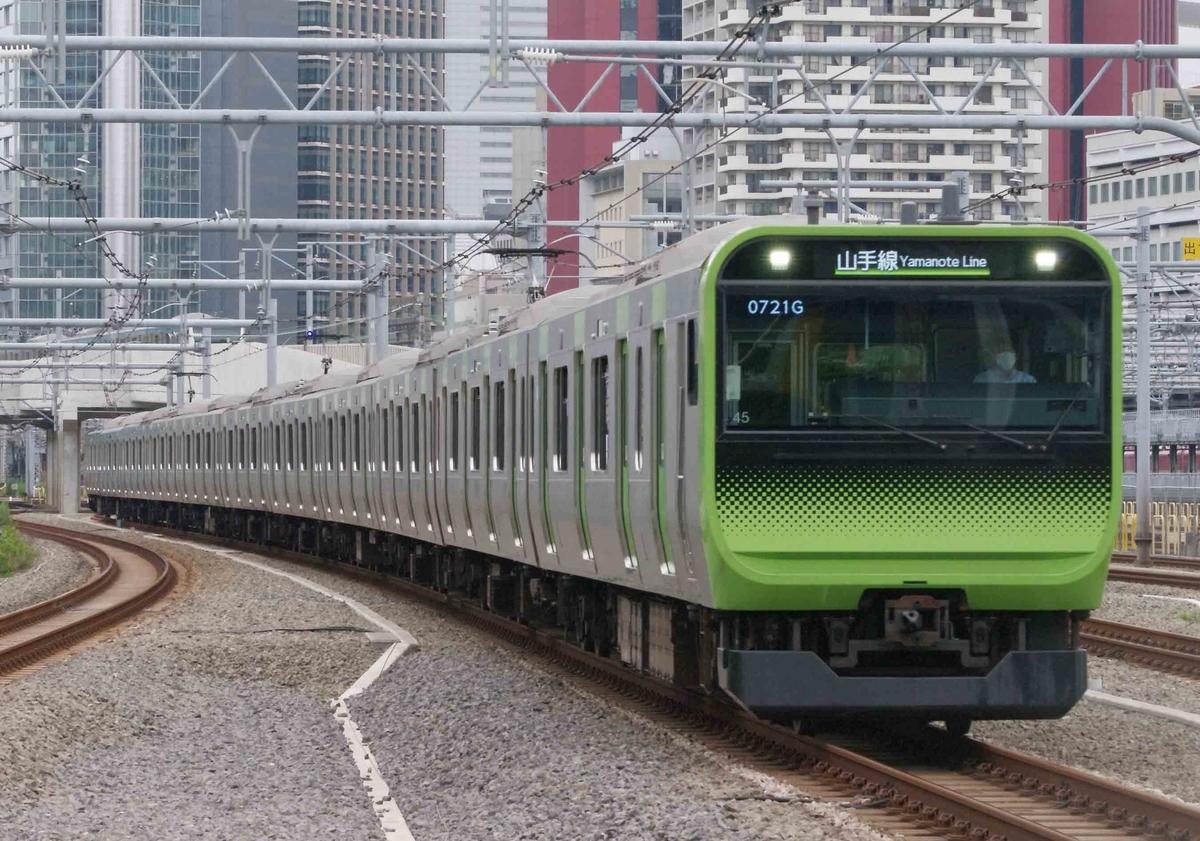 山手線 京浜東北線 高輪ゲートウェイ駅  撮影地 E233系1000番台 E235系