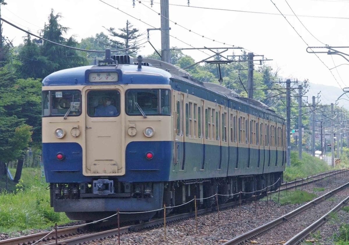 115系 スカ色 S16編成 S26編成 引退 しなの鉄道 撮影地 軽井沢 中軽井沢