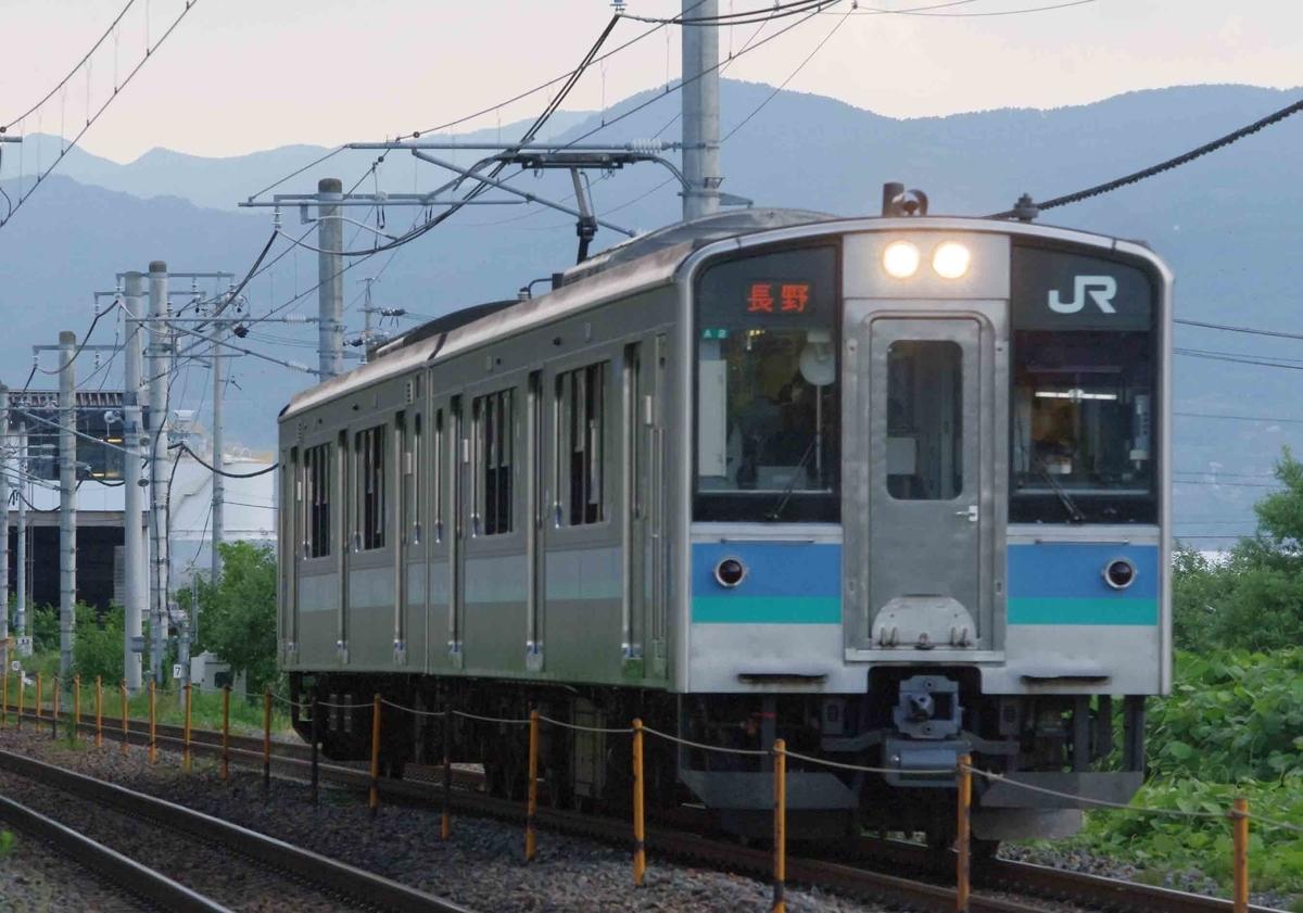 信越線 今井 川中島 撮影地
