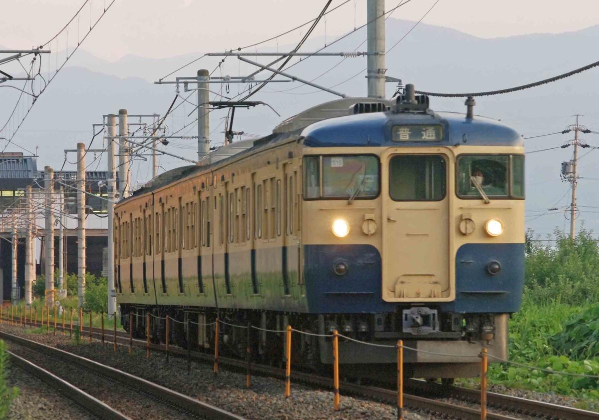 S16編成 S26編成 スカ色 横須賀色 しなの鉄道 115系 撮影地 今井 川中島 信越線 引退 さようなら