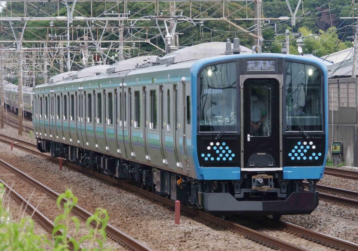E131系500番台 相模線 試運転 大磯 二宮 東海道線 撮影地