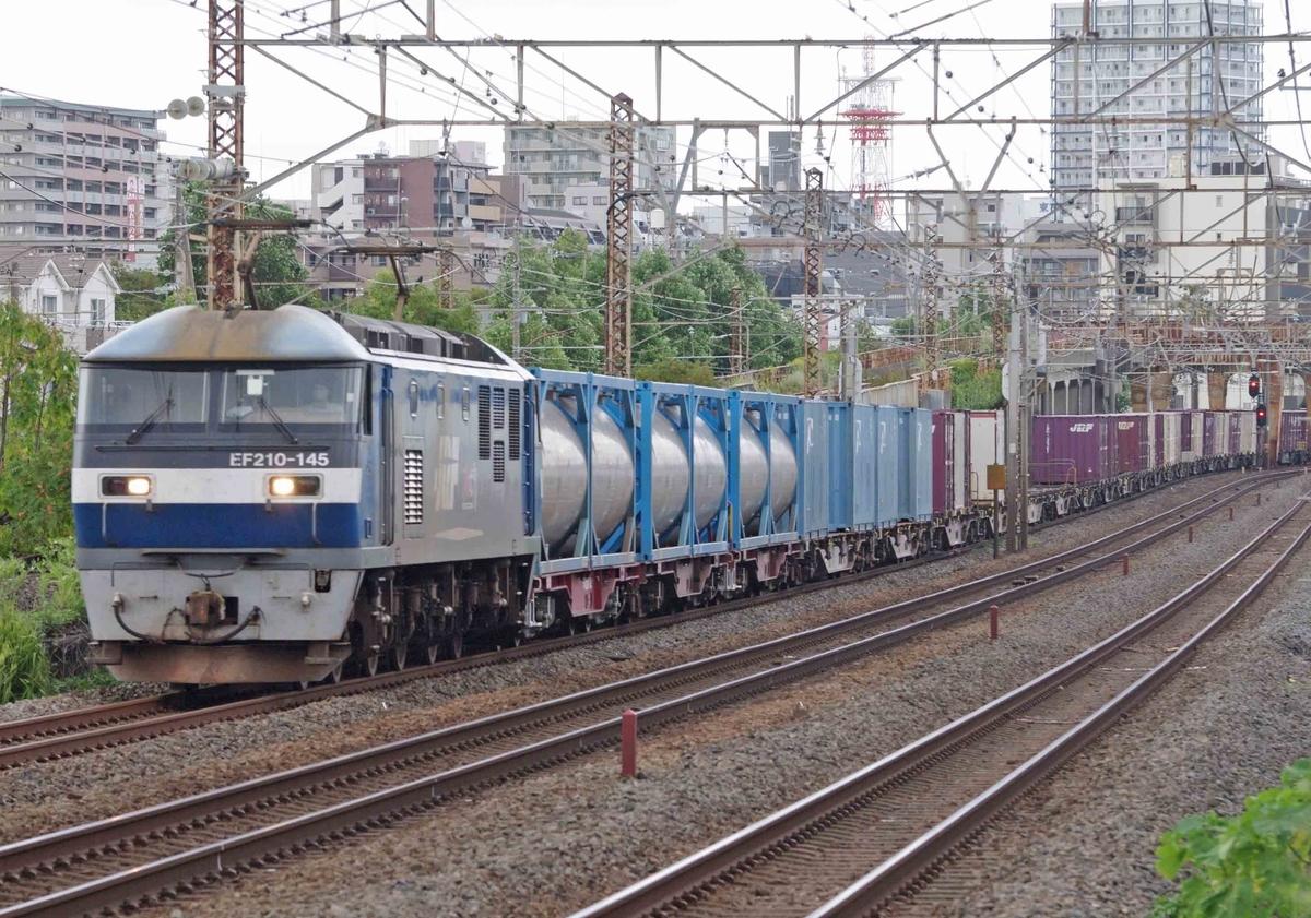 東海道線 平塚 大磯 撮影地 相模貨物駅 貨物列車
