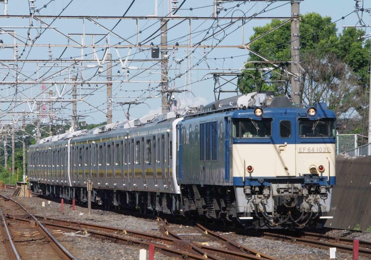 EF64-1000 E131系600番台 日光線 宇都宮線 出場配給回送 東浦和駅 武蔵野線 撮影地