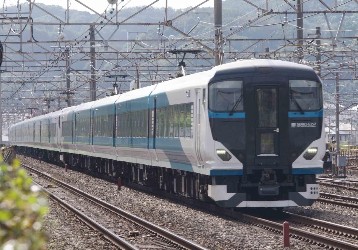 E257系5500番台 乗務員訓練 貨物列車 撮影地 東海道線 平塚 大磯 相模貨物