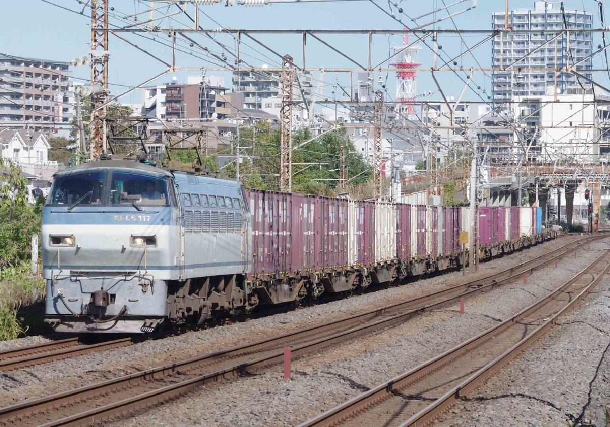 東海道線 EF210 -300 押し桃 新塗装 初期型 サメ EF66-100 EH500 金太郎 貨物列車 撮影地 大磯 平塚 汐留はじめ