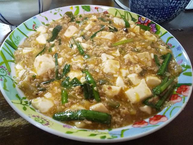 麻婆豆腐 男の料理 おうちごはん レシピ