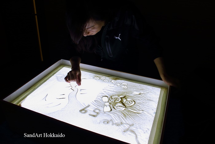 札幌サンドアート教室