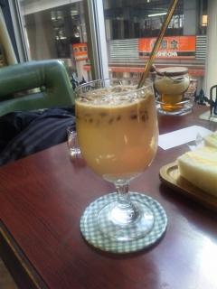 東京都練馬区東大泉5丁目にある喫茶店「喫茶アン」氷コーヒー