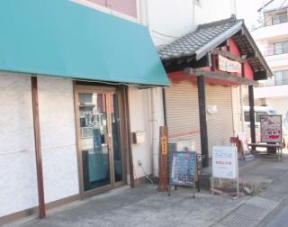 埼玉県越谷市千間台西2丁目にある洋食店「きゃせろ~る」の外観