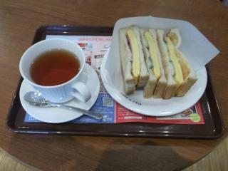 CAFE de CRIE カフェ・ド・クリエ せんげん台店n厚焼きの玉子