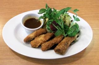 ビッグボーイ加平店のサーロインのビーフチーズカツ&春の温野菜