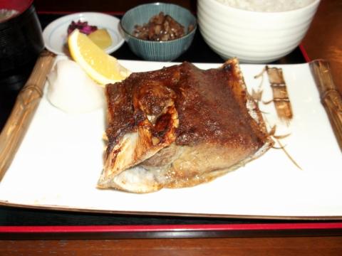 JR東海道本線早川駅駅近くの神奈川県小田原市早川1丁目にある魚介海鮮料理のお店ふるはうすのマグロのカマ焼き定食