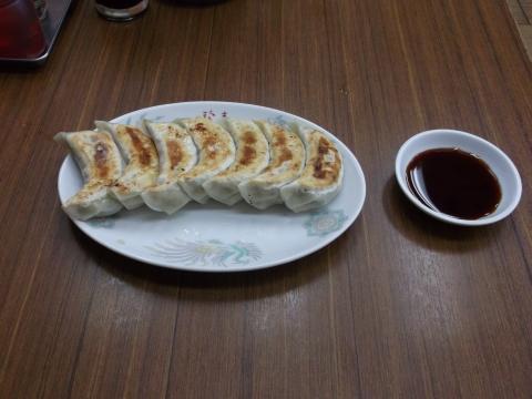 つくばエクスプレス六町駅近くの中華料理点、珍来六町店の餃子