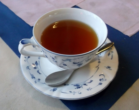埼玉高速鉄道埼玉スタジアム線の新井宿駅近くの埼玉県川口市赤山にあるイタリアンのお店ANTICOBASILICAアンティコバジリカの紅茶