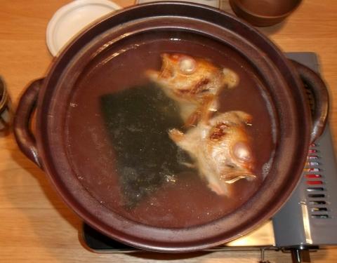 軽井沢和食宿菜々せの夕食のどぐろのしゃぶしゃぶ