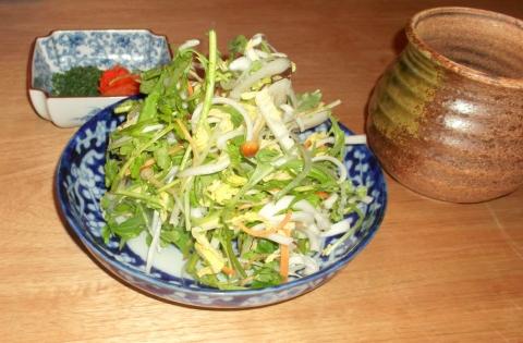 軽井沢和食宿 菜々せの夕食、のどぐろのしゃぶしゃぶ