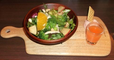 @Home Dining Salve アットホームダイニングサルヴェのパワーサラダプレート