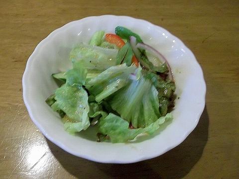 千間台西にある洋食店厨Sawaのサラダ