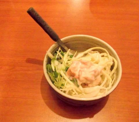 東京スープカレーcahaya総本店のサラダ